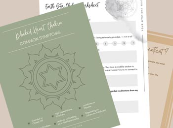 mindfulness worksheets from Marisa Grieco